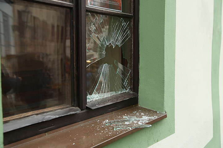 A2B Glass are able to board up broken windows while they are being repaired in Chester Le Street.